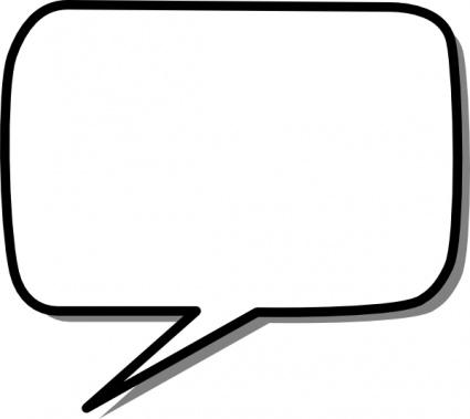 Message clipart bubble speech Speech bubbles bubble Speech thought