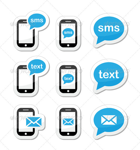 Message clipart computer email Set text Icon icons mail