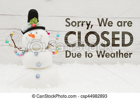 Message clipart due Message Closed A to