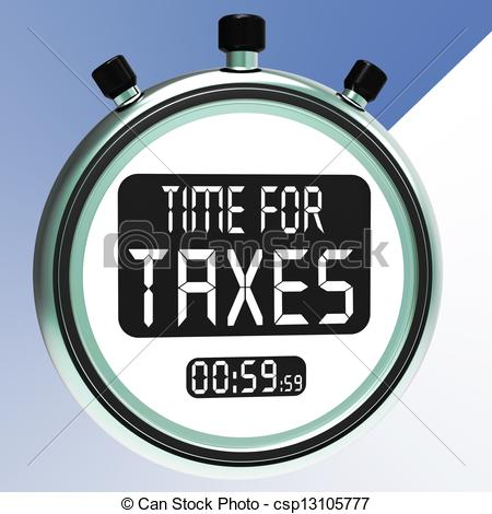 Message clipart due Meaning Time Taxation Taxes Clip