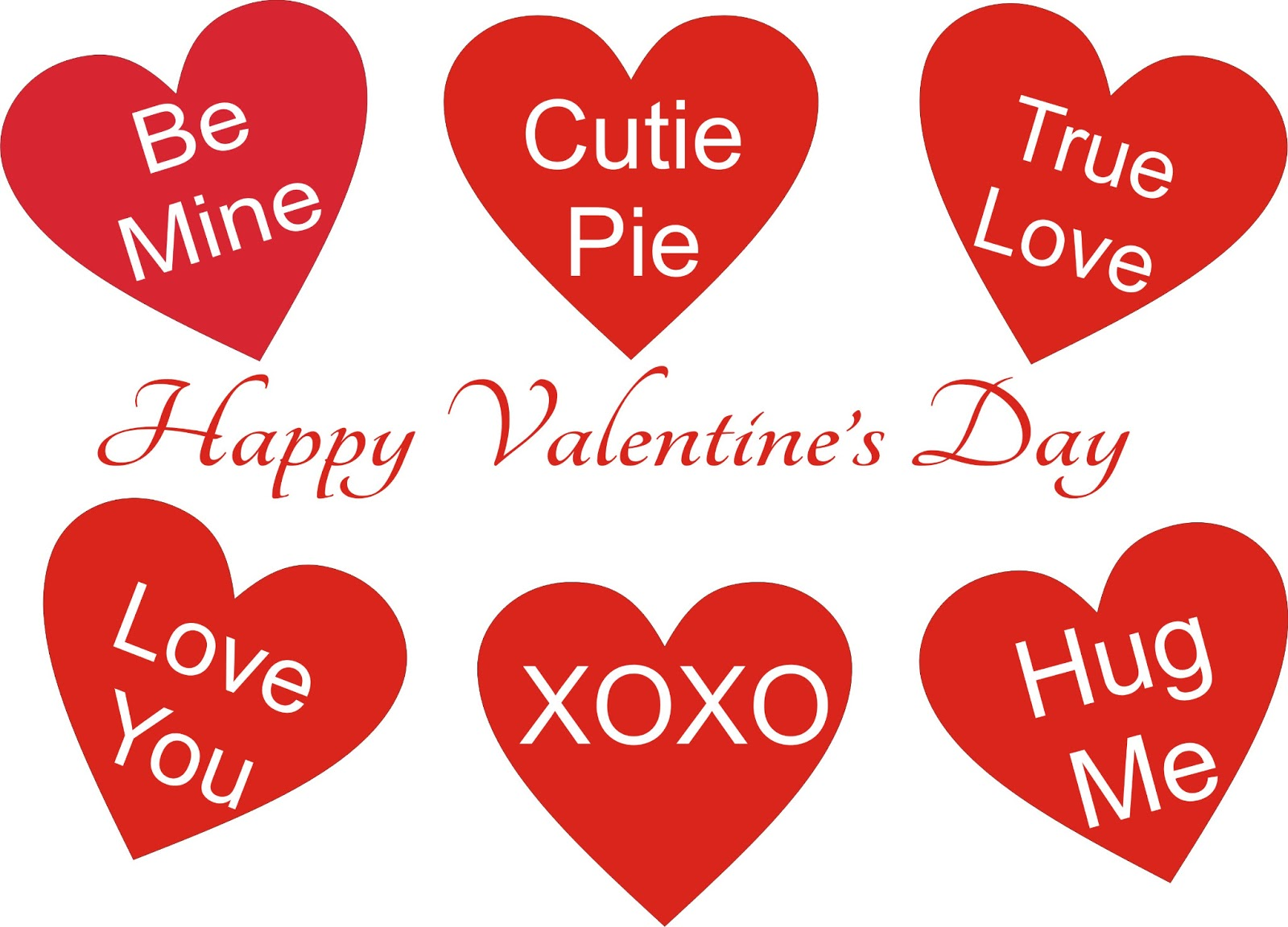 Saying clipart valentine's day #2