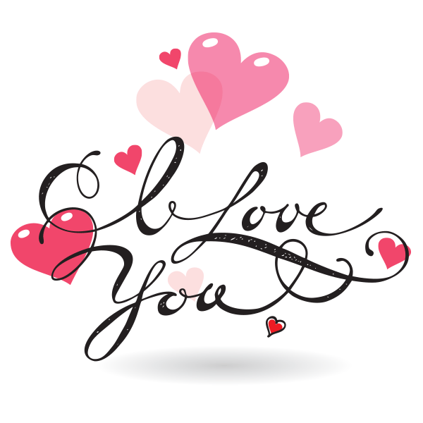 Message clipart i love you I Love Love Message Emoticons