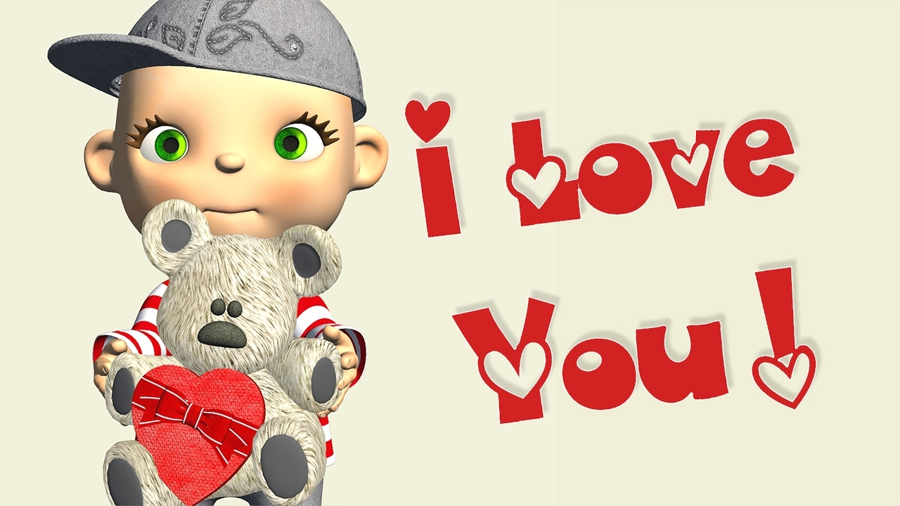 Message clipart i love you Love You I Love video