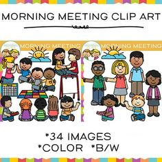 Morning clipart morning meeting #2