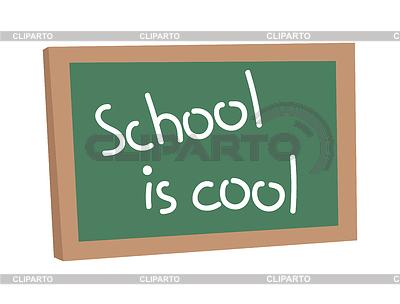 Message clipart school board Frame school Classroom Green blank