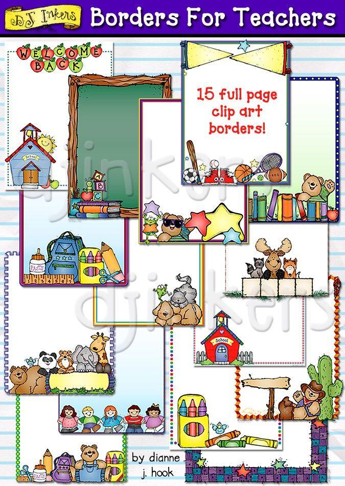 Message clipart school board Clip best teacher Borders school