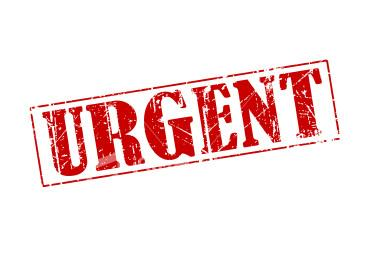 Message clipart urgent For Transit Transit Suffolk Urgent