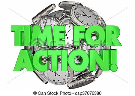 Message clipart urgent Time Action Time 3d Words