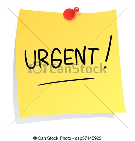 Message clipart urgent On Paper  Message Urgent
