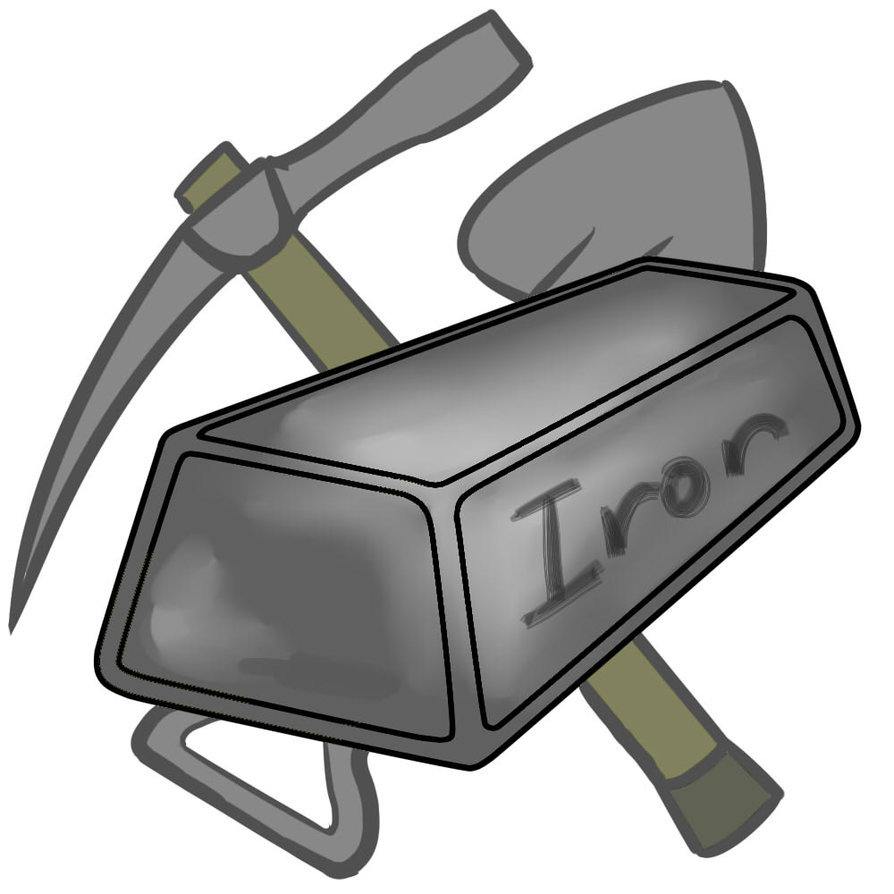 Metal clipart  Iron Clipart Metal