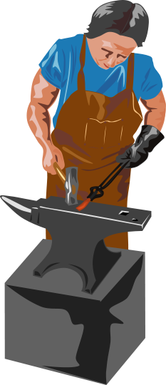 Blacksmith clipart iron metal Free Public is A forging