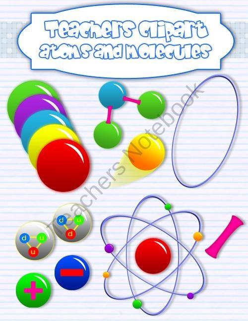 Molecule clipart chemistry On Atoms TeachersNotebook s about