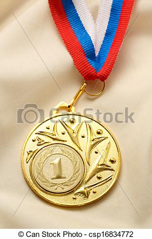 Metal clipart first place medal Place medal silk Metal csp16834772
