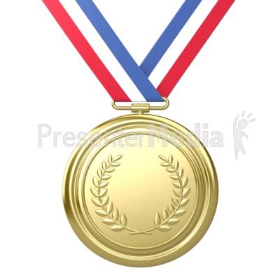 Winning clipart gold medal winner Award Recreation Place Medal