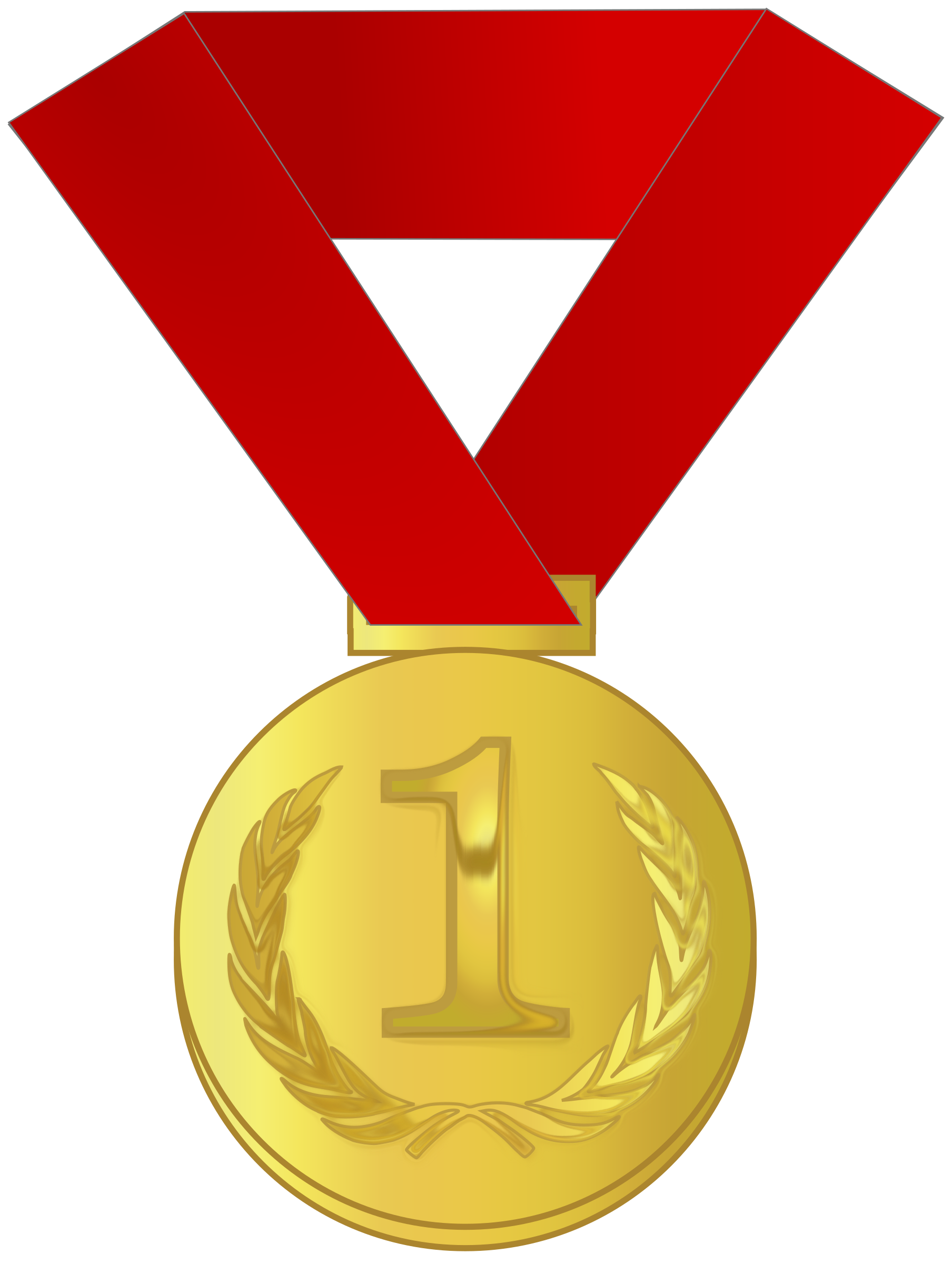 Winning clipart gold medal winner For Federation – result Rebel