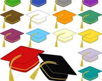 Graduation clipart colorful Graduation Graduation graduate use clipart