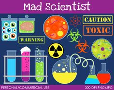 Woman clipart mad scientist #14