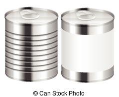 Metal clipart tin Tin tin Illustration tin can