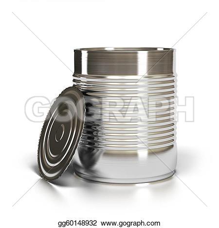 Metal clipart tin Tin lid white lid it