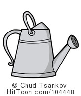 Watering Can clipart metal Gardening #104448 Larger Preview Royalty