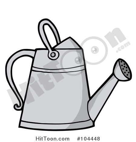 Watering Can clipart metal Free Illustration Gardening a of