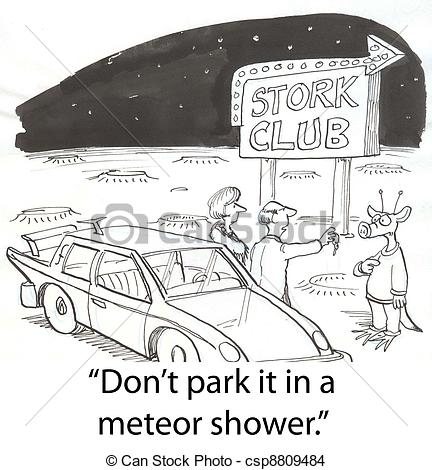 Meteor clipart meteor shower Shower Meteor parking shower 333