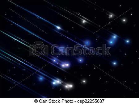 Meteor clipart meteor shower In shower csp22255637 in csp22255637