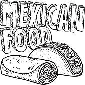 Tortilla clipart mexican restaurant With · Food Art Free
