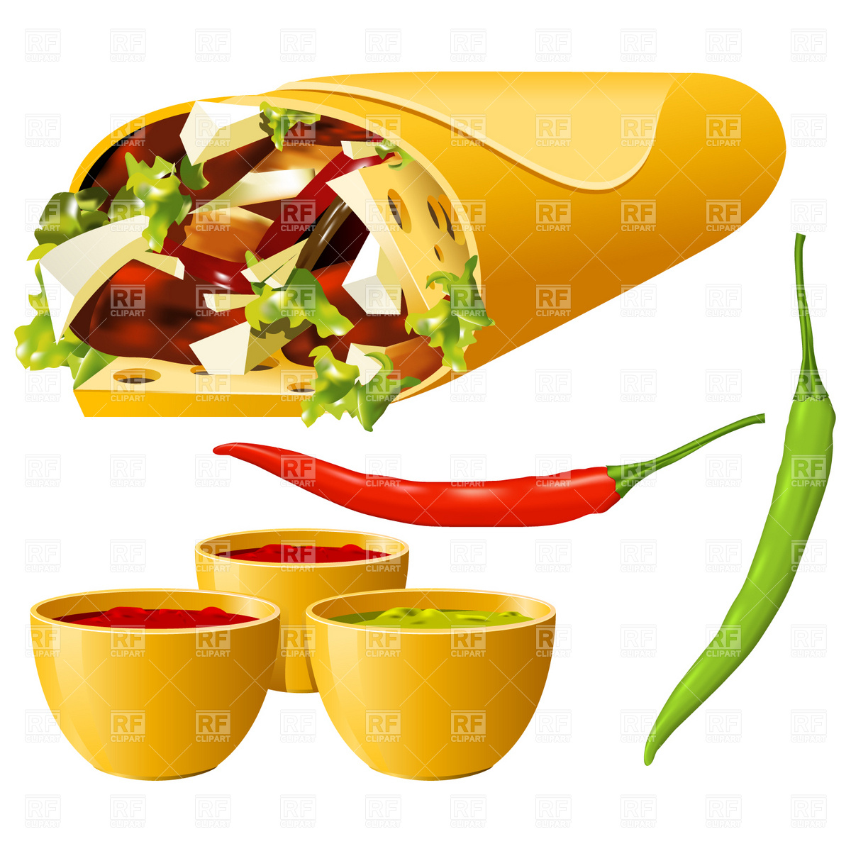Mexican clipart Mexican Food Clipart Mexican Food Clipart Clipart Bay