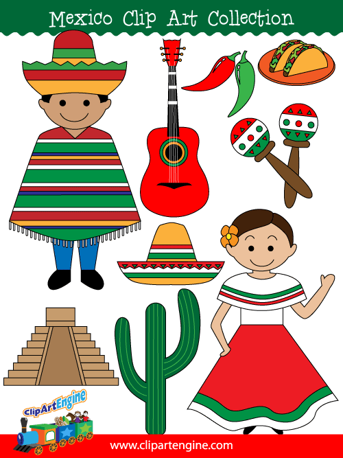 Mexico clipart Art Collection Personal Art royalty