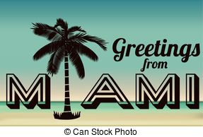 Miami clipart dallas skyline Clip illustration and Stock Illustrations