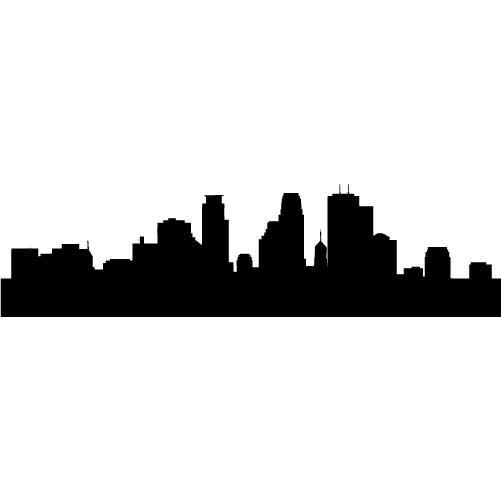 Miami clipart cityscape Clipart Skyline Skyline Minneapolis Clipart