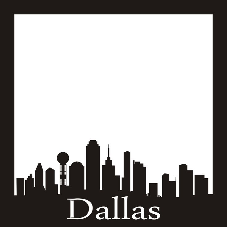 Miami clipart dallas skyline Images Pinterest 14 on 12x12