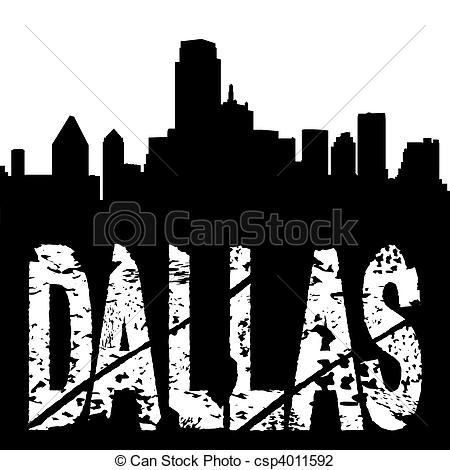 Miami clipart dallas skyline Text of text with csp4011592