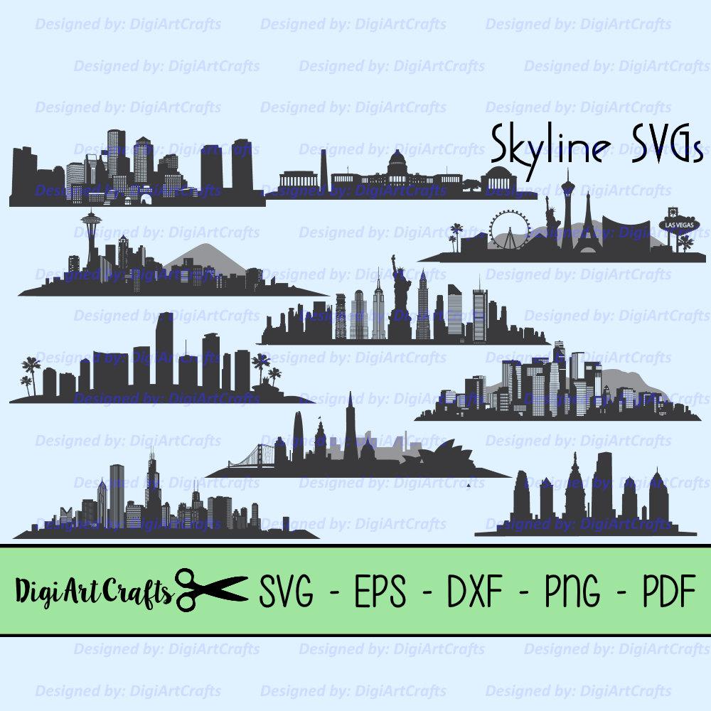 Miami clipart philly skyline #9
