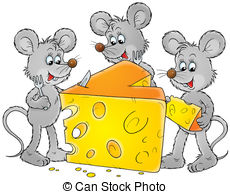 Mice clipart Illustration and 4 Mice Mice