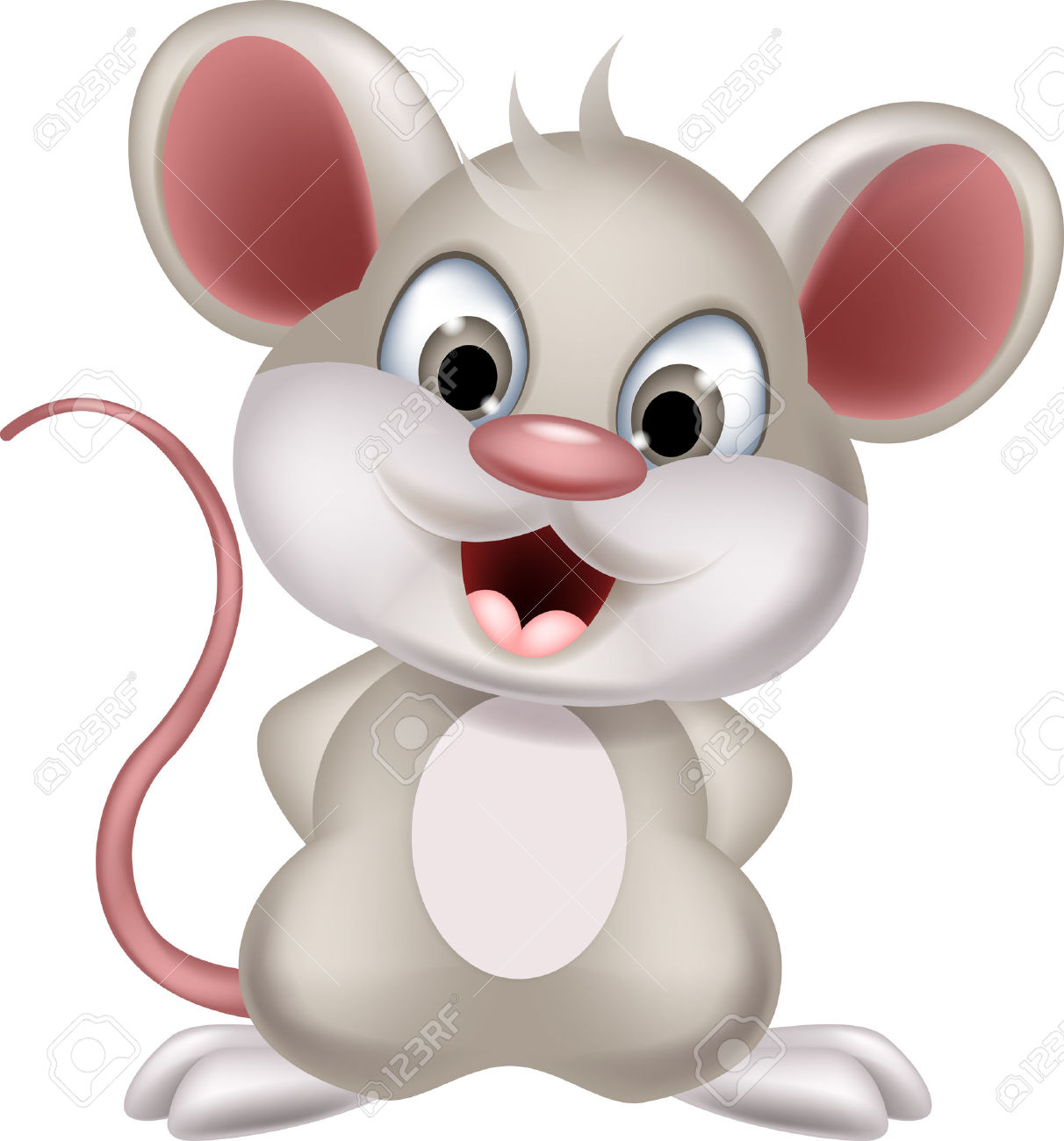 Rodent clipart baby mouse #7