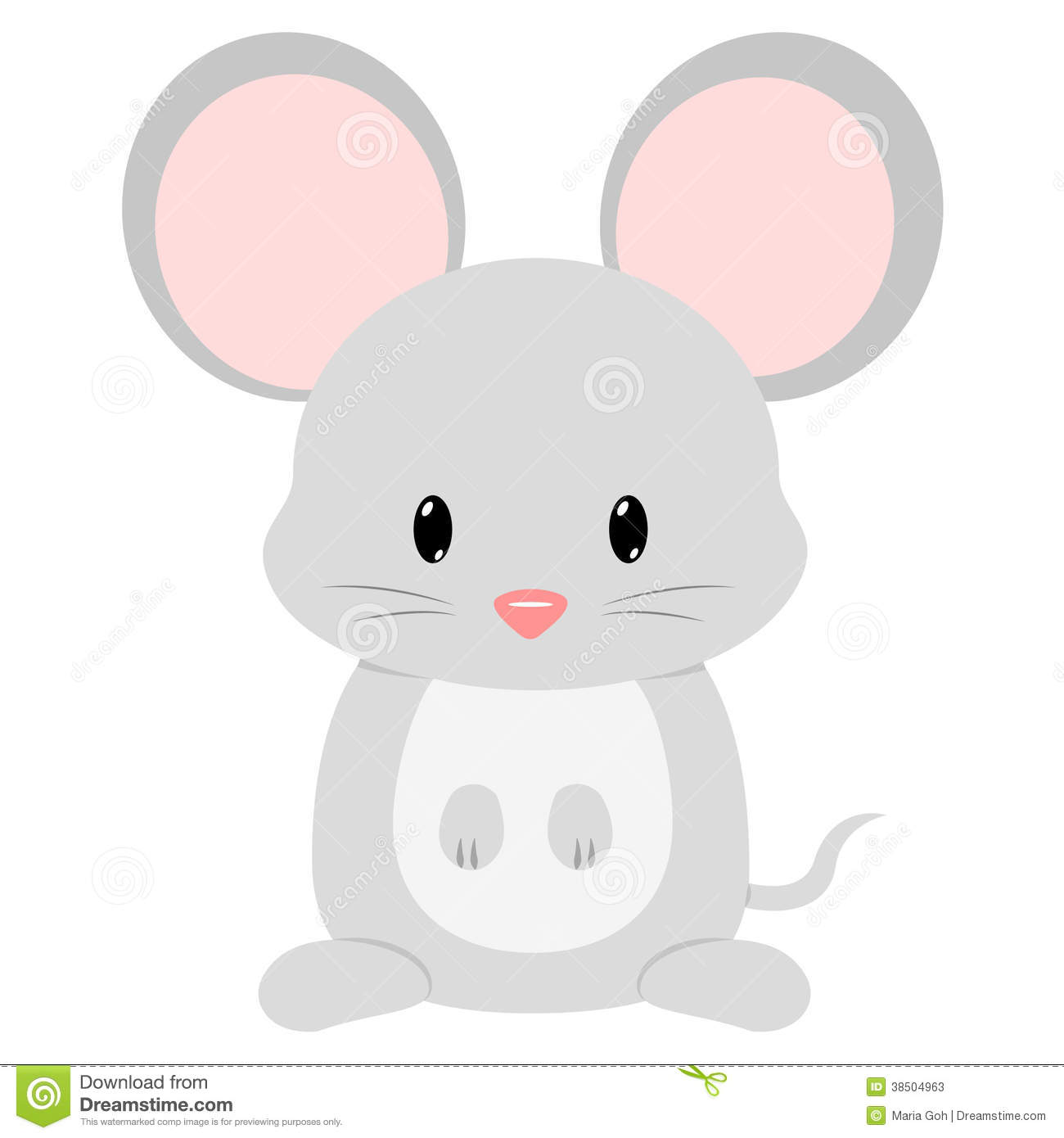 Rodent clipart baby mouse #5