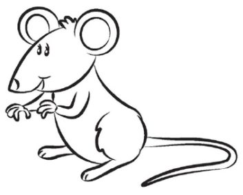 White clipart mouse And Mouse ClipartWar People Art