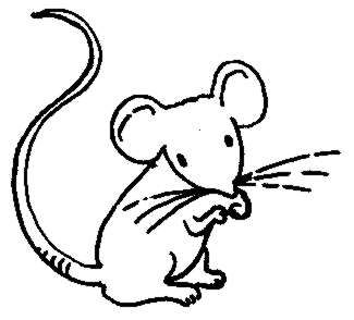 Drawn rodent black and white cartoon White And Mouse Mouse Panda