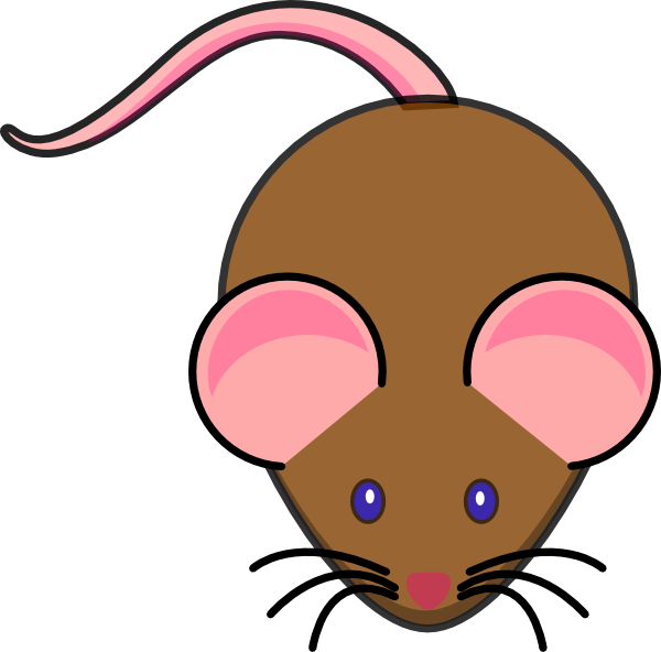 Simple clipart mouse #14