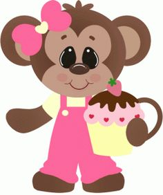 Mouse clipart cute monkey Clipart Cute girl mouse clipart