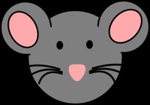 Mouse clipart mouse face Art vector online com at