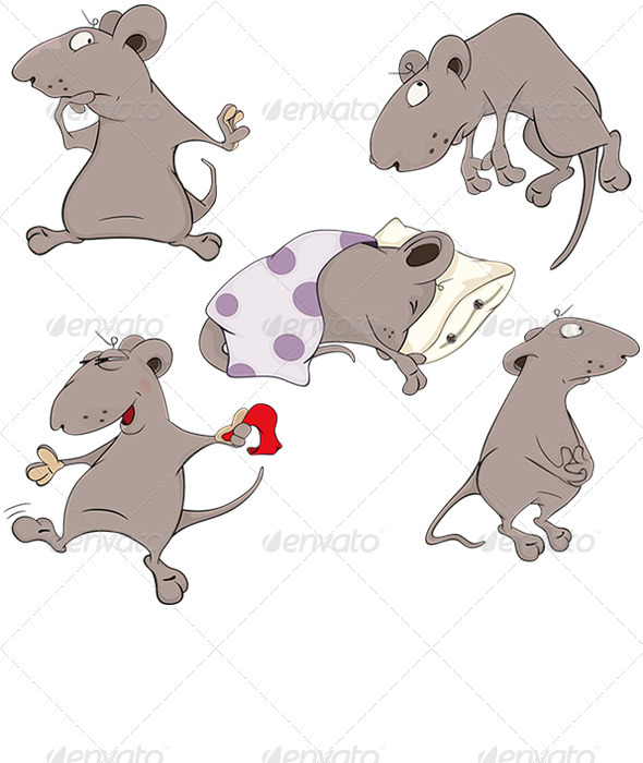 Rodent clipart baby mouse #10