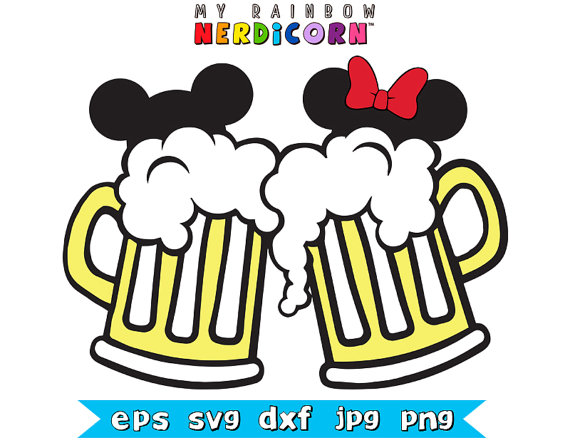Beer clipart mickey For Ears Beer by Ears