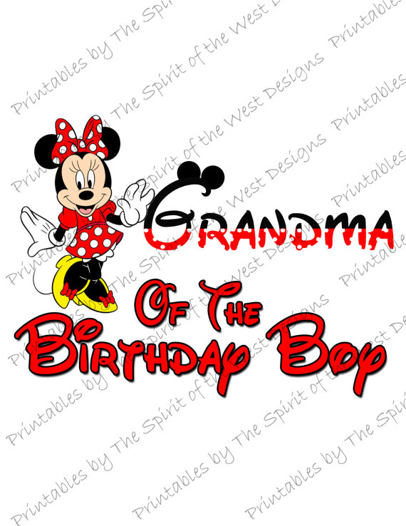 Party clipart grandma Of IMAGE Mouse Minnie Iron