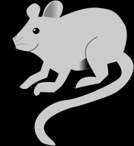 Rat clipart grey mouse #6