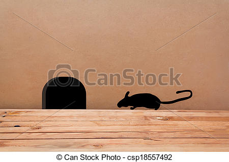 Mouse clipart hole in wall In clip wall Hole Wall