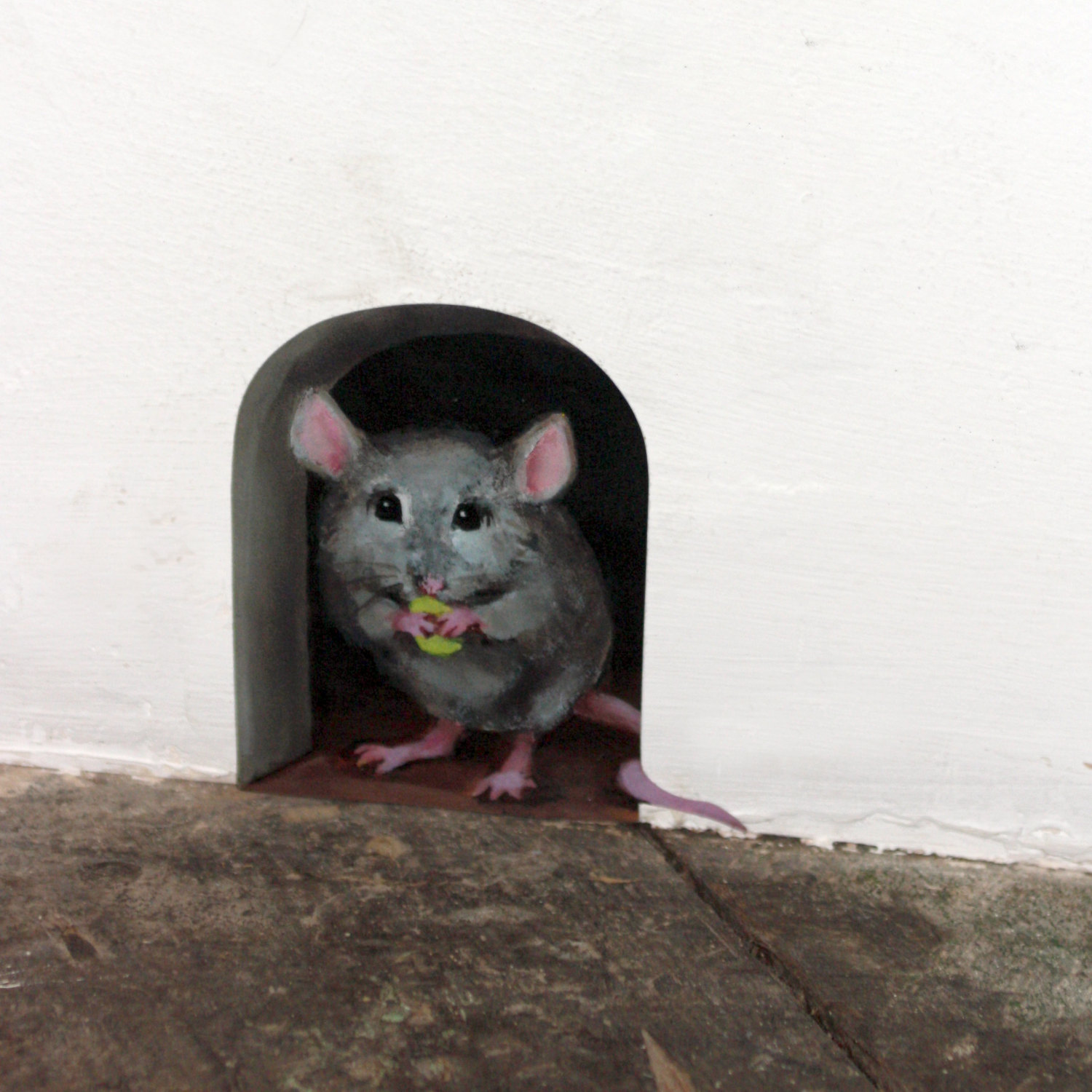 Mouse clipart hole in wall Hole clipart wall Clipart Mouse