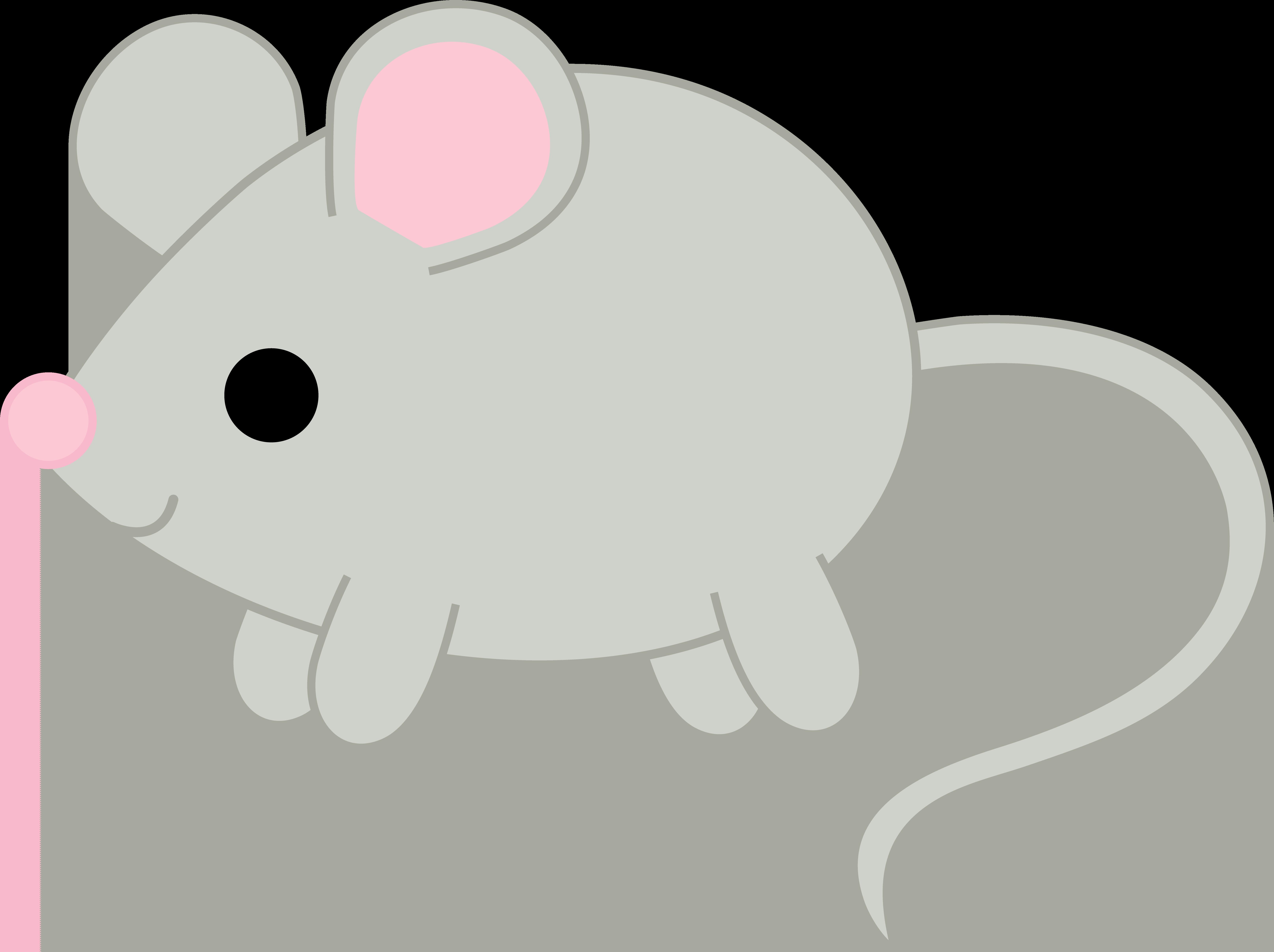 Mouse clipart kawaii Free Little Art Gray Art